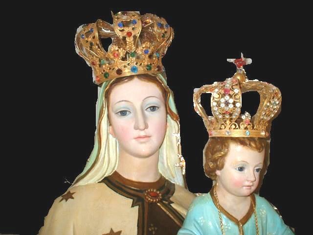 Piccolo Ufficio Della Madonna : Caria madonna del carmine centenario della statua